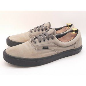 Vans Men's Low Skate Shoes Grey/Green Sneakers 13